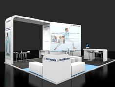 Company - Biotronik Exhibition - HRC 2016 Exhibition Stand Design, 3d, Exhibition Stall Design