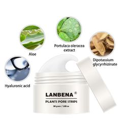 Lanbena Blackhead Remover Nose Mask Pore Strip Black Mask Peeling Acne Treatment Deep Cleansing Face Mask Oil Control Skin Care Rich And Magnificent Beauty & Health Face