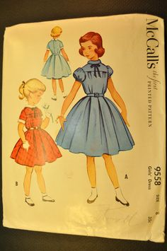 1953 children's fashions - She made a few of these for me in grade school to! Even though it was the 60's.