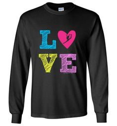 Sandy sweet retired adult stars pinterest love gymnastics long sleeve t shirt youth adult sizes fandeluxe Image collections