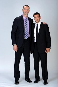Chara and Bergeron.  2012 NHL Awards - 06/20/2012 - Boston Bruins