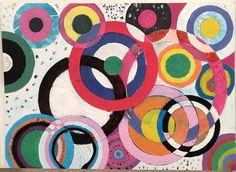 Pintura al estilo de Sonia Delaunay