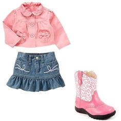 Skye's Birthday Shoot - pink jacket and boots, created by #bellasaraceno on #polyvore. #fashion #style Old Navy CC SKYE