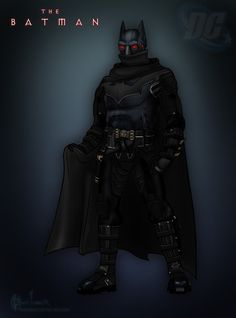 batman redesign by rainingcrow on DeviantArt Batman The Dark Knight, Batman Redesign, In The Pale Moonlight, Hawkgirl, Creatures Of The Night, Dc Characters, Red Hood, Bat Family, Nightwing
