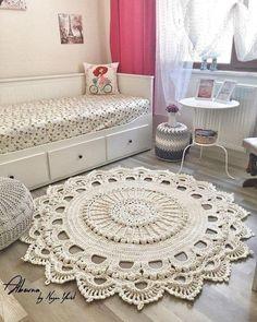 Work By Soft Decor ❤️❤️❤️ Gorgeous Tex Hakeln - Crochet Rug