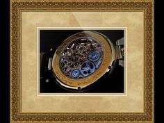 Stuhrling Original Emperor's Tourbillon Watch Framed Print and Photo in Canvas, Beautiful and Unique