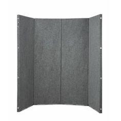 Lorell 1 Panel Room Divider | Wayfair Desk Dividers, Hanging Room Dividers, Diy Room Divider, Panel Room Divider, Music Studio Room, Sound Studio, Freestanding Room Divider, Cubicle Walls, Privacy Panels