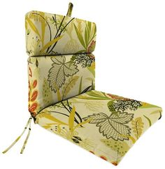 Replacement Seat Cushion - Fish Bowl Seaweed by Jordan Manufacturing. MADE IN THE USA!!