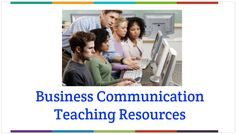 Business Communication Teaching Resources