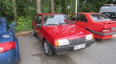 Lada Samara 1300 S 3d 1995 axtec after waxing, turtle wax rubbing compund heavy duty restorer