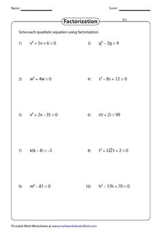 This set of worksheets requires students to solve one step equations involving integers fractions and decimals by performing addition subtraction multiplication or division operations.. It also contains math riddles finding the cost of the objects translating the phrases into one step equation and more.. On this page you will find algebra worksheets mostly for middle school students on algebra topics such as algebraic expressions equations and graphing functions.. This page starts off with…