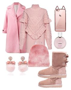 """Untitled #10"" by vikakarpunina on Polyvore featuring Ranjana Khan, Chanel, UGG, Olympia Le-Tan and Mother of Pearl"
