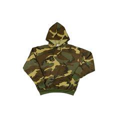 Woodland Camo Pullover Sweatshirt ($25) ❤ liked on Polyvore featuring tops, hoodies, sweatshirts, camouflage fleece pullover, camo pullover, camouflage top, camo sweatshirts and sweater pullover