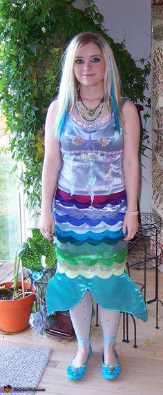 Mermaid - Homemade costumes for girls