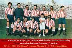 Plantilla club Atletico-Aviacion 1945/46.