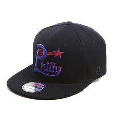Adjustable Snapback Hat made from 100% Acrylic Wool. Embroidered Philadelphia Stars Baseball Team Logo on the front & Official NLBM Logo on the back.