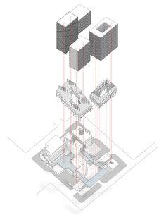 19_Pastiche_Nie Harvard University, Graduate School, Graphics, Drawing, Architecture, Design, Arquitetura, University, Graphic Design