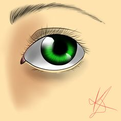 intento de ojo realista