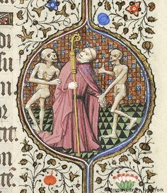 Nightly news, c.1400  Book of Hours, 1430-1435, Morgan Library