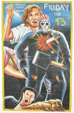 African Ghana Jason Goes To Hell Poster