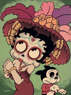 Betty, La Calavera Catrina by Cayetano Garza Jr