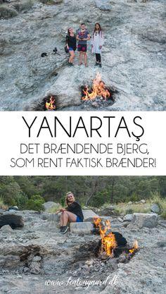 Yanartaş - Det brændende bjerg, som rent faktisk brænder! - TeaTougaard.dk Jorden, Hippie Man, Pamukkale, Water, Movie Posters, Movies, Outdoor, Gripe Water, Outdoors