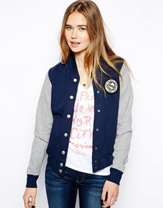 Hilfiger Denim Tracy Baseball Jacket