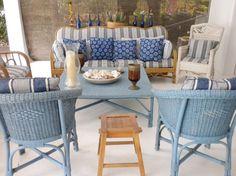 O mar na decoração: casa de arquiteto tem conchas, muito azul e branco - Casa Brasileira - Programas - GNT