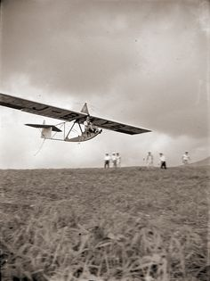 1930s Japan | a Slingsby Primary / Dagling Glider in flight at Kirigamine Japan in the 1930s. The glider registration number is J-BKYB and it flew from Dec 1934 to May 1937 according to an aviation history website. This photo is from a group of found Japanese photos/negatives that includes many pictures of old Japanese gliders at Mount Kirigamine in the 1930s.
