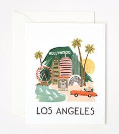 Rifle Paper Co. - Card de Los Angeles