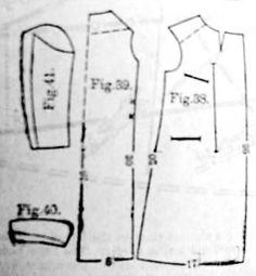 Ulster coat for a boy from 9-10 years old, Harper's Bazaar- 1895