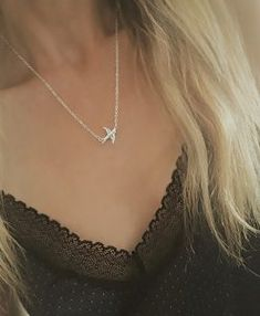 Colliers tendance 2018 - collier hirondelle Pearl Necklace, Chokers, Pearls, Chain, Diamond, Earrings, Silver, Accessories, Jewelry