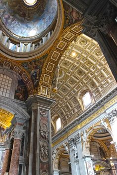Corner view - St. Peter's Basilica, Vatican City by Cong Nguyen (CBN Photography)