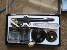 Single Action Airbrush Review http://dailytwocents.com/single-action-airbrush-review/