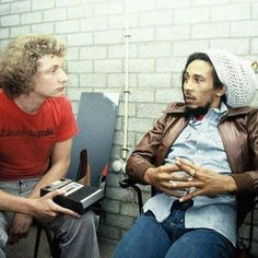 **Bob Marley** Ahoy Rotterdam, Rotterdam, Holland, July 7, 1978. Backstage Interview. More fantastic pictures, music and videos of *Robert Nesta Marley* on: https://de.pinterest.com/ReggaeHeart/