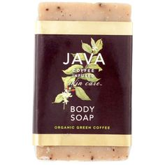 Java Skincare Exfoliating Bar Soap- 4.25 oz. ($9) ❤ liked on Polyvore featuring beauty products, bath & body products and body cleansers
