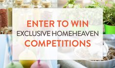 Competitions! Enter to win!