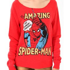 FOREVER 21 The Amazing Spider-Man™ Pullover ($20) ❤ liked on Polyvore featuring tops, hoodies, sweatshirts, shirts, sweaters, distressed shirt, raglan sweatshirt, pullover sweatshirt, long sweatshirt and graphic shirts