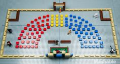 Mashable told the story of the election through Legos. This was really smart. /mk