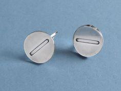 Vintage Georg Jensen Sterling Silver Cufflinks #105 - Denmark c1970
