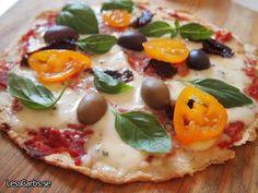 Recept: LCHF Pizza - glutenfri pizza - LessCarbs.se