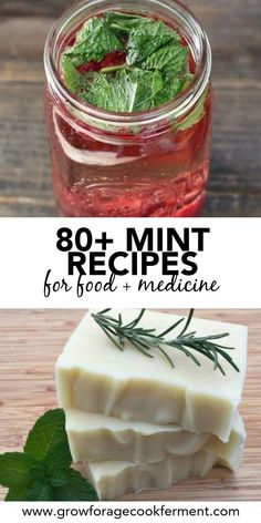 Cold Home Remedies, Natural Health Remedies, Herbal Remedies, Mint Recipes, Herb Recipes, Cooking Recipes, Recipes With Fresh Mint, Pineapple Health Benefits, Ginger Benefits