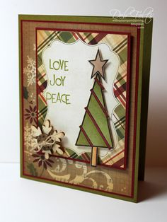 O Christmas Tree by debdeb - Cards and Paper Crafts at Splitcoaststampers