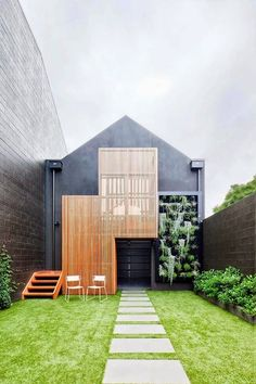 The Modern Extension Style to a Two Storey Terrace in Architecture Ideas