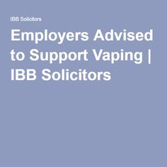 Health And Safety Policy Advice For Employers From IbbS