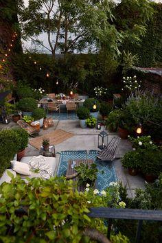 Back Gardens, Outdoor Gardens, Outdoor Patios, Indoor Outdoor, Backyard Landscaping, Backyard Designs, Oasis Backyard, Outdoor Patio Designs, Outdoor Spaces