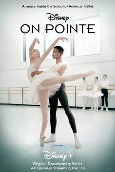 """""""On Pointe"""" captures a season in New York City's world renowned School of American Ballet (SAB). Featuring unprecedented access to one of the top youth ballet institutions in the world, the series follows the lives of the students ages 8 to 18 pursuing their dreams to become ballet dancers. While older students from all over the country rigorously train for professional careers, younger students from New York City are made to rehearse and perform in New York City Ballet's holiday classic"""