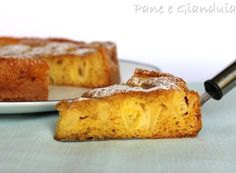 torta di mele con crema toffè