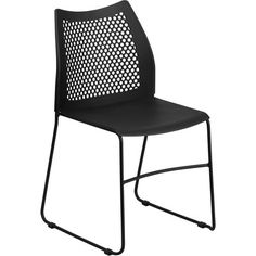 Found it at Wayfair - Hercules Series Sled Base Stackable Side Chair