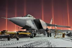 MiG 31 Foxhound mach2.8 Interceptor